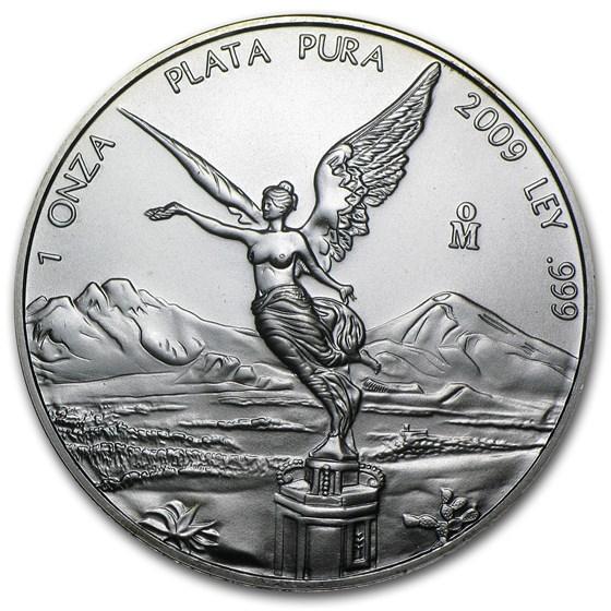 2009 Mexico 1 oz Silver Libertad BU