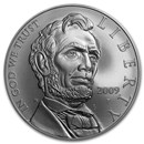 2009-P Abraham Lincoln $1 Silver Commem BU (w/Box & COA)