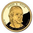 2009-S James Polk Presidential Dollar Proof