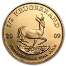 2009 South Africa 1/2 oz Gold Krugerrand