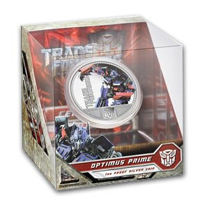 2009 TUV 1 oz Silver 1st Transformers Series Prf (Optimus Prime)