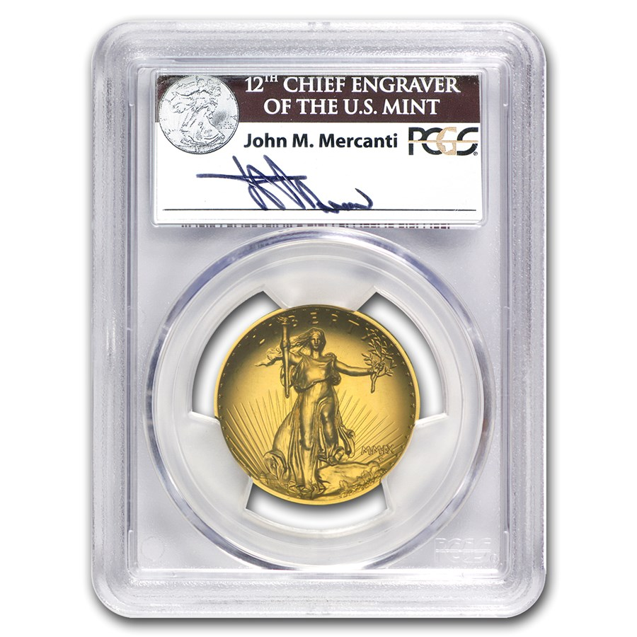 2009 Ultra High Relief Double Eagle MS-70 PCGS (Mercanti)