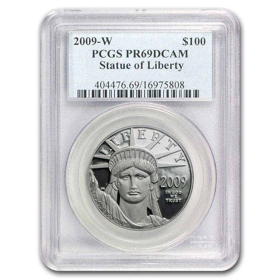 2009-W 1 oz Proof Platinum American Eagle PR-69 PCGS