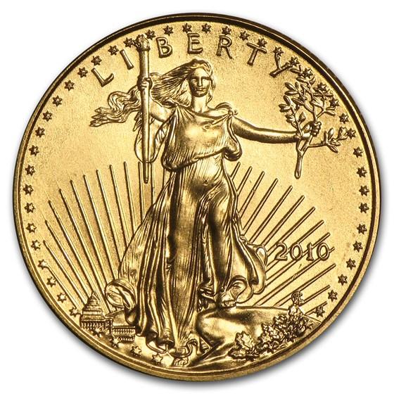 2010 1/10 oz American Gold Eagle BU