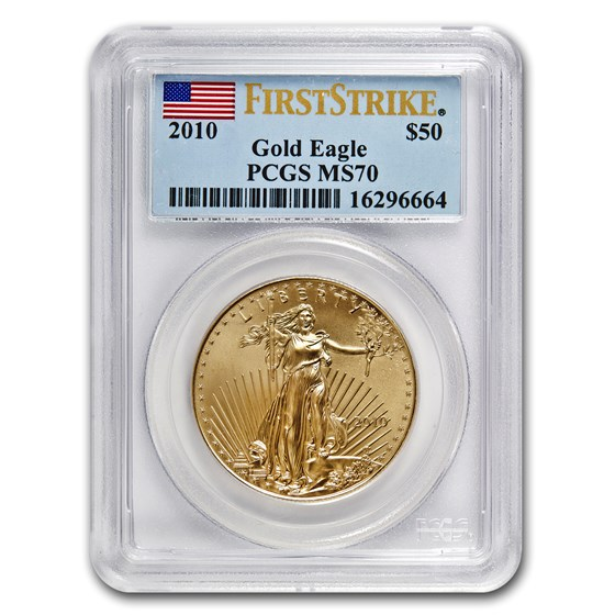 2010 1 oz American Gold Eagle MS-70 PCGS (FS)