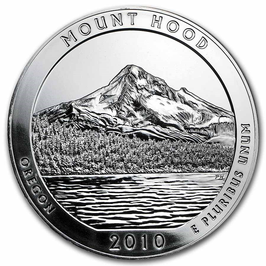 2010 5 oz Silver ATB Mount Hood National Park, OR