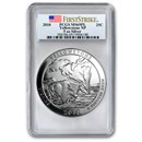 2010 5 oz Silver ATB Yellowstone MS-69 PL PCGS (FirstStrike®)