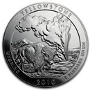 2010 5 oz Silver ATB Yellowstone National Park, WY