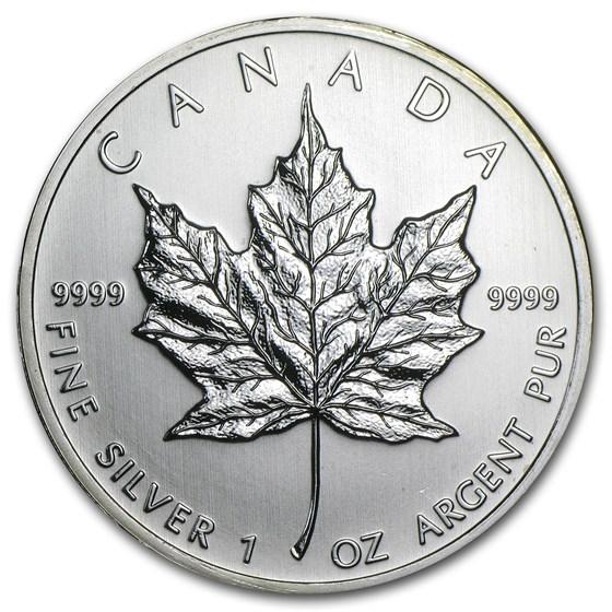 2010 Canada 1 oz Silver Maple Leaf BU