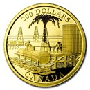 2010 Canada Proof Gold $200 Oil Industry (Coin Only)