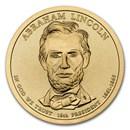 2010-D Abraham Lincoln Presidential Dollar BU
