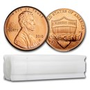 2010-D Lincoln Cent 50-Coin Roll BU