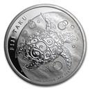 2010 Fiji 1 oz Silver $2 Taku BU