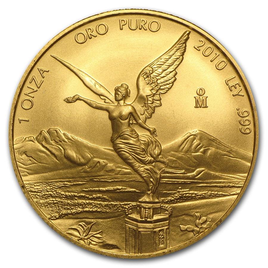 2010 Mexico 1 oz Gold Libertad BU