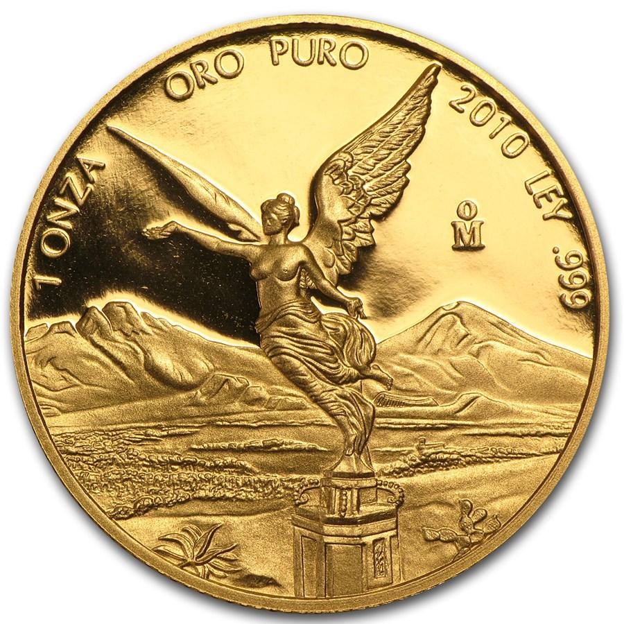 2010 Mexico 1 oz Proof Gold Libertad