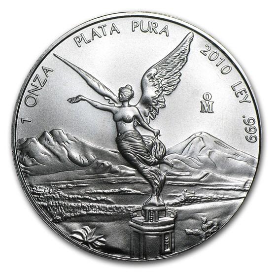 2010 Mexico 1 oz Silver Libertad BU