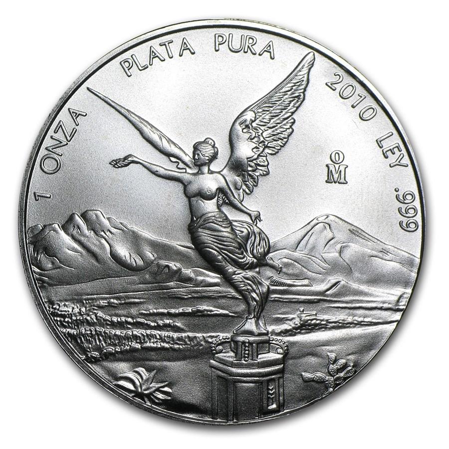 Buy 2016 Mexico 1/4 oz Silver Libertad BU | APMEX