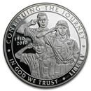 2010-P Boy Scouts Centennial $1 Silver Commem Proof (w/Box & COA)