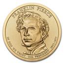 2010-P Franklin Pierce Presidential Dollar BU