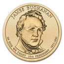 2010-P James Buchanan Presidential Dollar BU