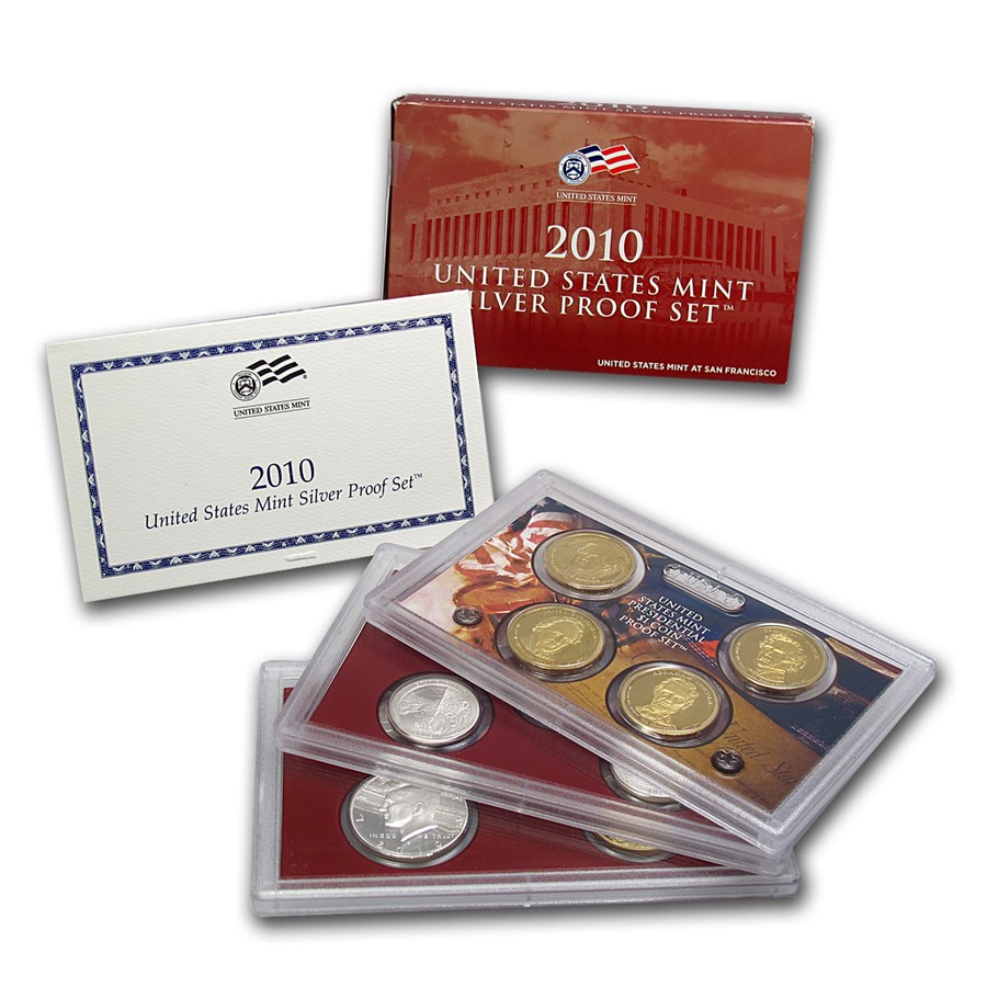 2010-S Silver Proof Set