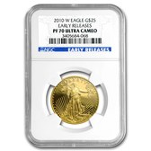 2010-W 1/2 oz Proof Gold Eagle PF-70 UCAM NGC (Early Releases)