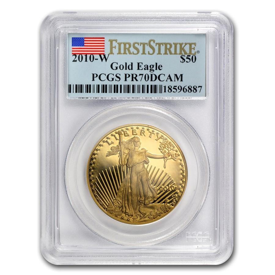 2010-W 1 oz Proof Gold American Eagle PR-70 PCGS (FS)