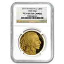 2010-W 1 oz Proof Gold Buffalo PF-70 NGC