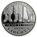 2010-W Disabled American Veterans $1 Silver Commem Prf (Box/COA)