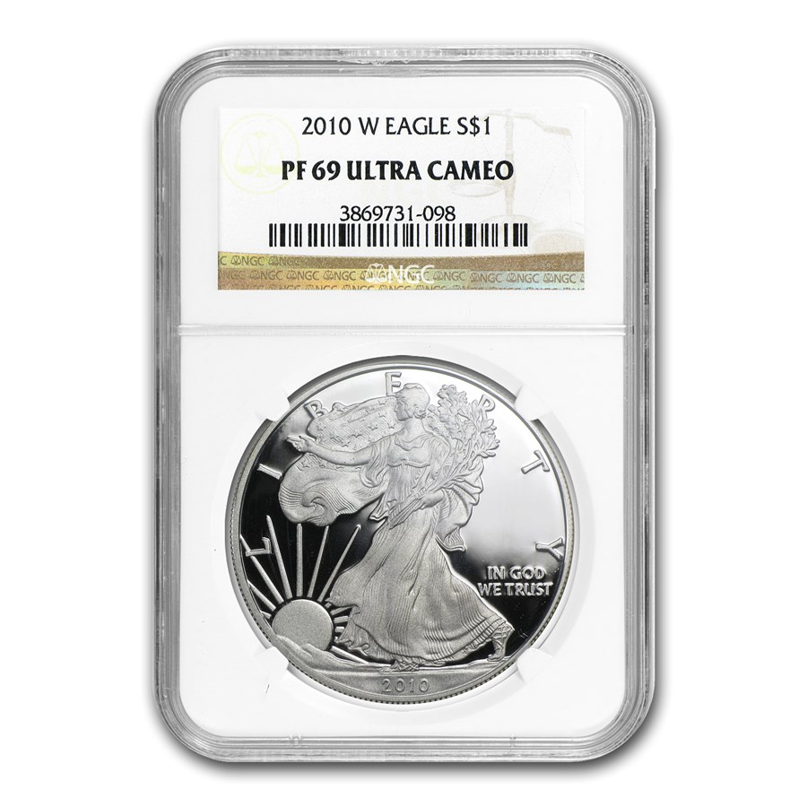 2010-W Proof Silver American Eagle PF-69 NGC
