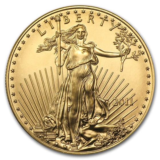 2011 1 oz American Gold Eagle BU