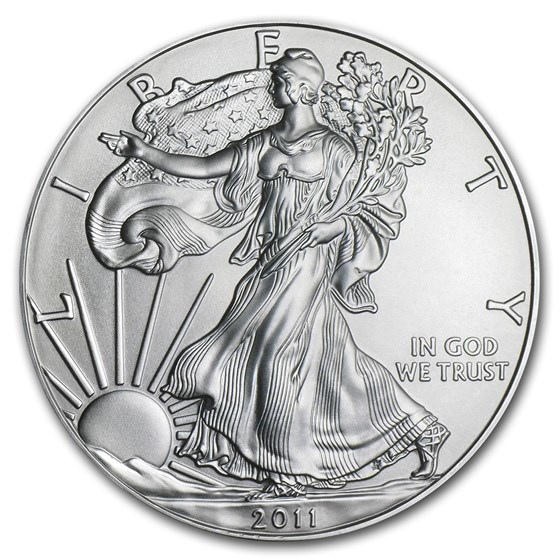 2011 1 oz American Silver Eagle BU