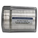 2011 20-Coin American Silver Eagle Sealed Tube PCGS (FS)
