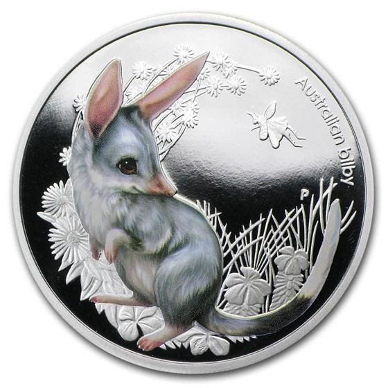 2011 Australia 1/2 oz Silver Bush Babies Bilby Proof