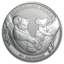 2011 Australia 1 kilo Silver Koala BU