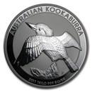 2011 Australia 1 kilo Silver Kookaburra BU