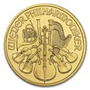 2011 Austria 1/2 oz Gold Philharmonic BU