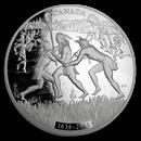 2011 Canada 1 kilo Silver $250 375th Anniv of Lacrosse (w/o Box)
