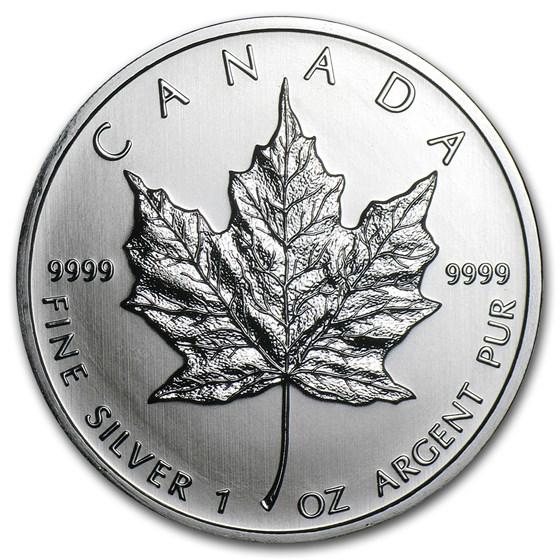 2011 Canada 1 oz Silver Maple Leaf BU