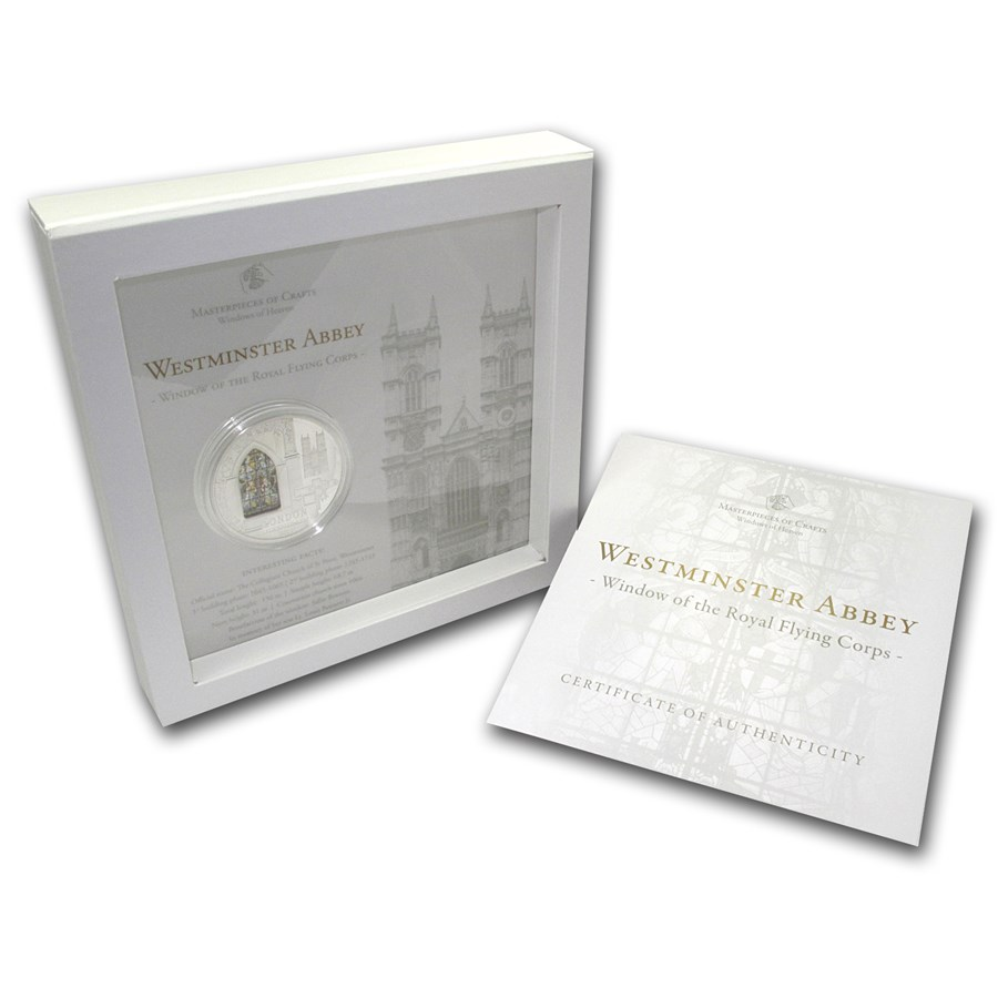 2011 Cook Islands Silver $10 Windows of Heaven Westminster