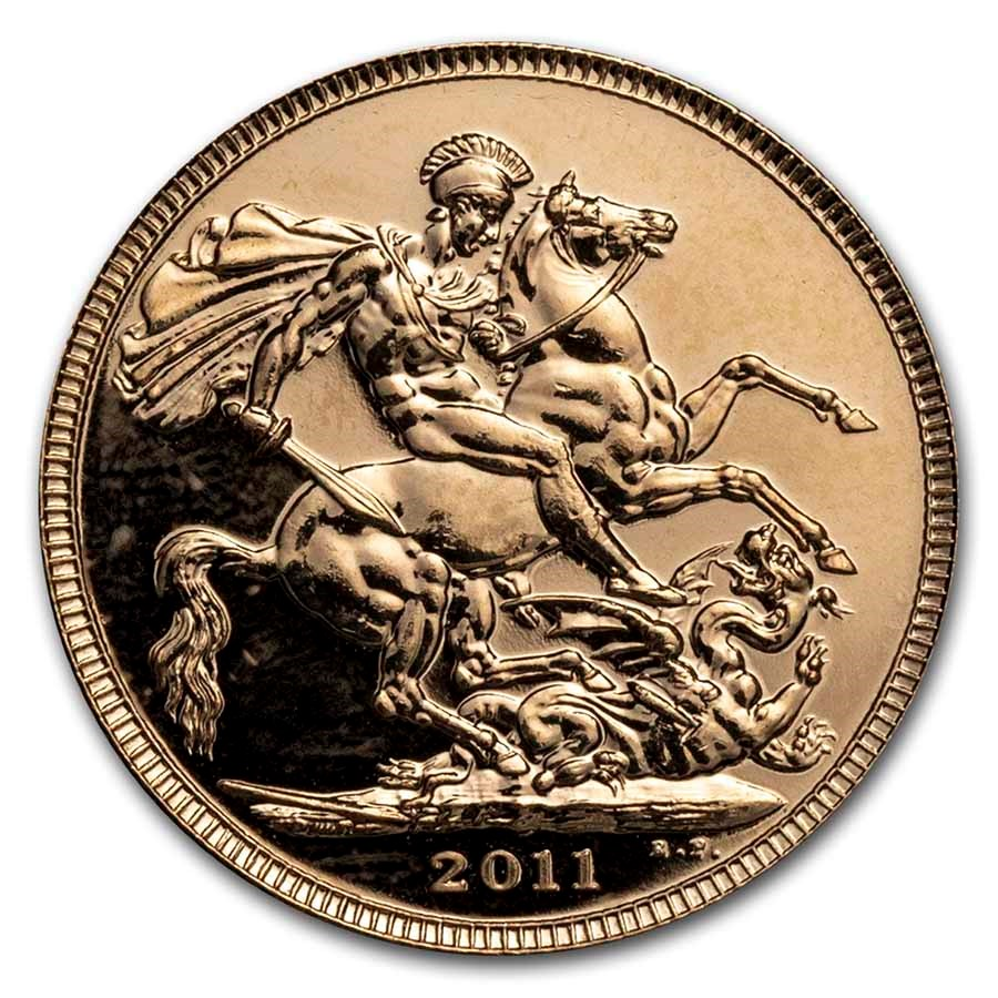 2011 Great Britain Gold Sovereign BU