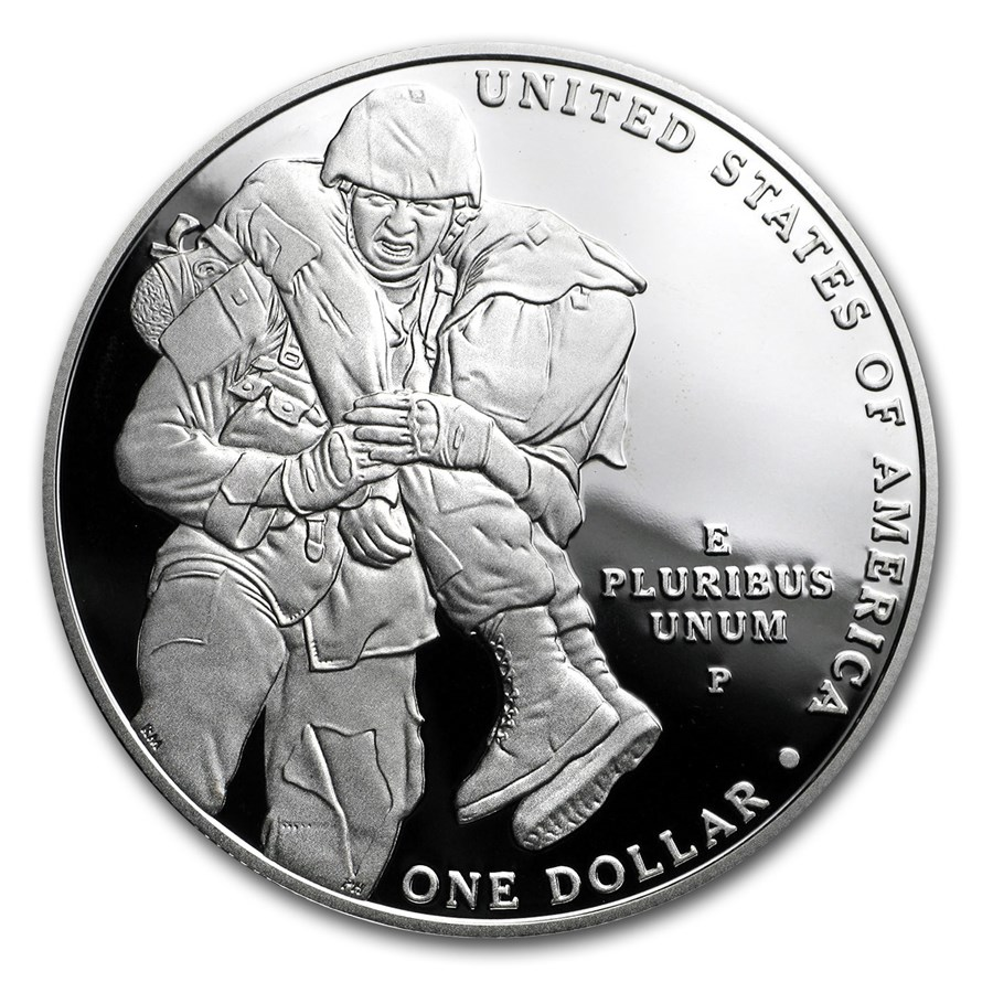 2011-P Medal of Honor $1 Silver Commem Proof (Capsule Only)