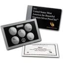2011-S America the Beautiful Quarters Silver Proof Set