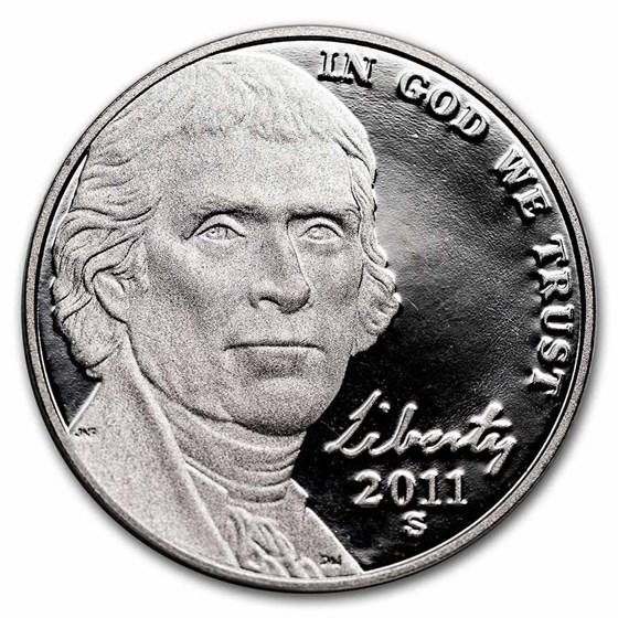 2011-S Jefferson Nickel Gem Proof