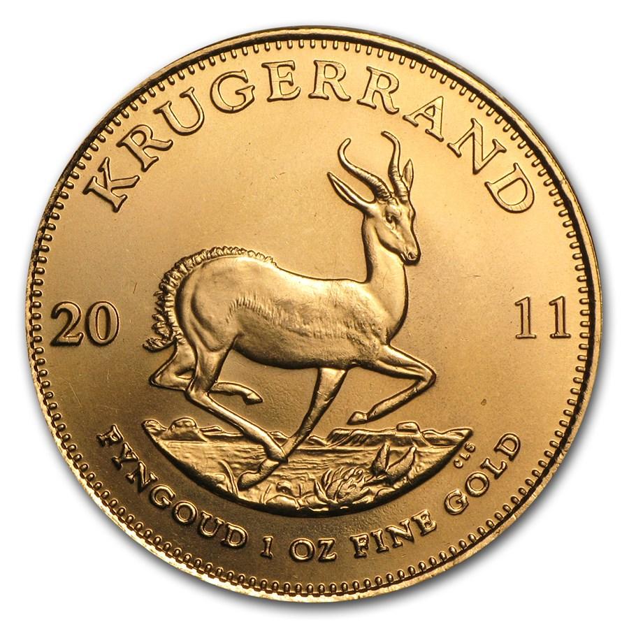 2011 South Africa 1 oz Gold Krugerrand