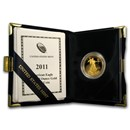 2011-W 1/2 oz Proof American Gold Eagle (w/Box & COA)
