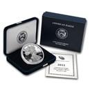 2011-W 1 oz Proof American Silver Eagle (w/Box & COA)