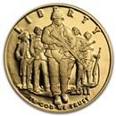 2011-W Gold $5 Commem Army Proof (w/Box & COA)