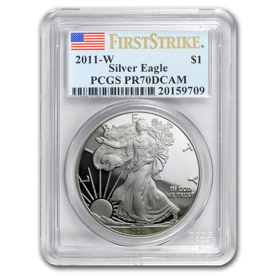 2011-W Proof Silver American Eagle PR-70 PCGS (FS)