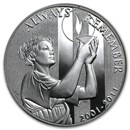 2011-W Silver 9/11 National Medal Proof (w/Box & COA)